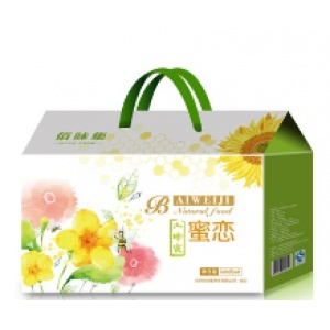 佰味集蜂蜜500gX3瓶礼盒
