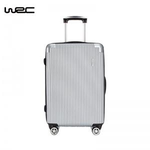 WRC超静音耐磨时尚万向轮拉杆箱20寸银色款号: W-Z60888